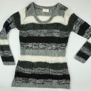 Bobbie Brooks Knit Sweater Top Striped